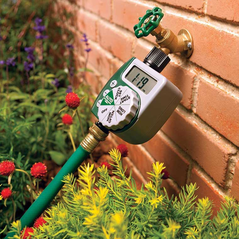 Hose Faucet with Timer