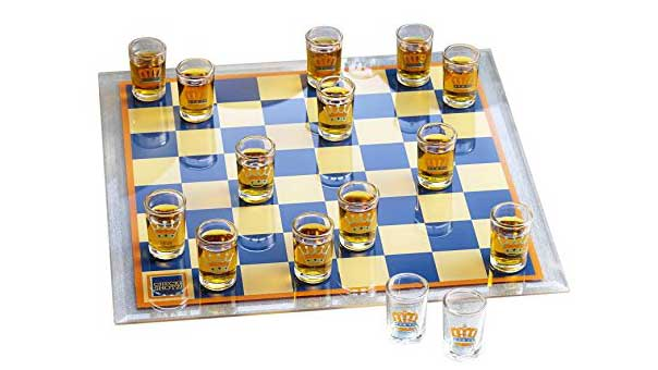Drinking Checkers Game