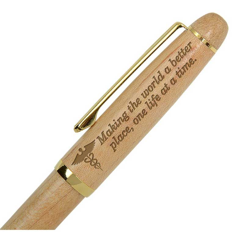Engraved Wood Pen