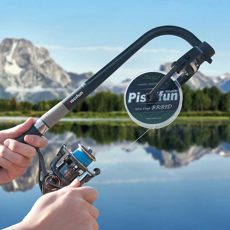 Fishing Line Spooler Device