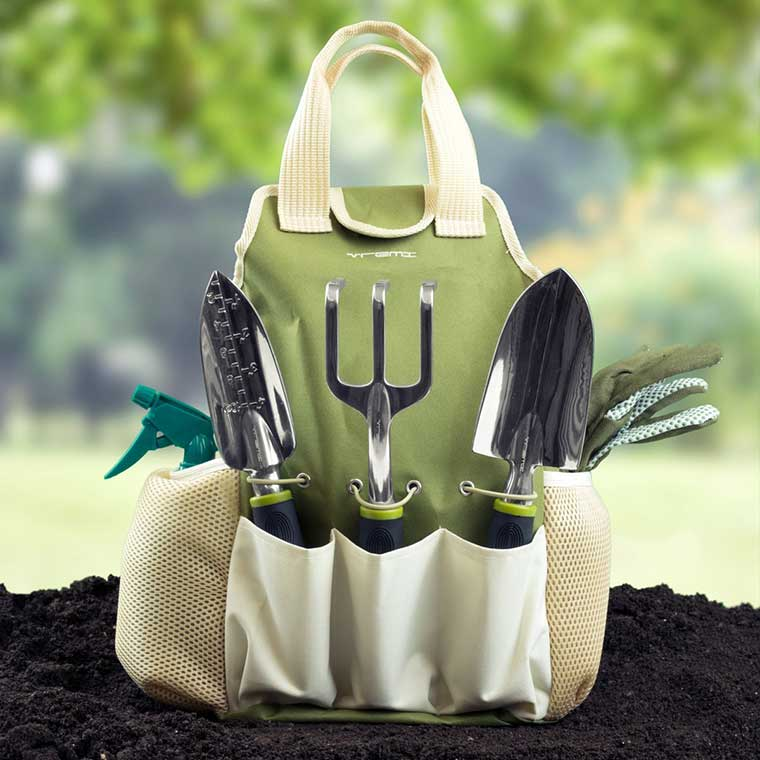 Garden Tool Kit with Tote