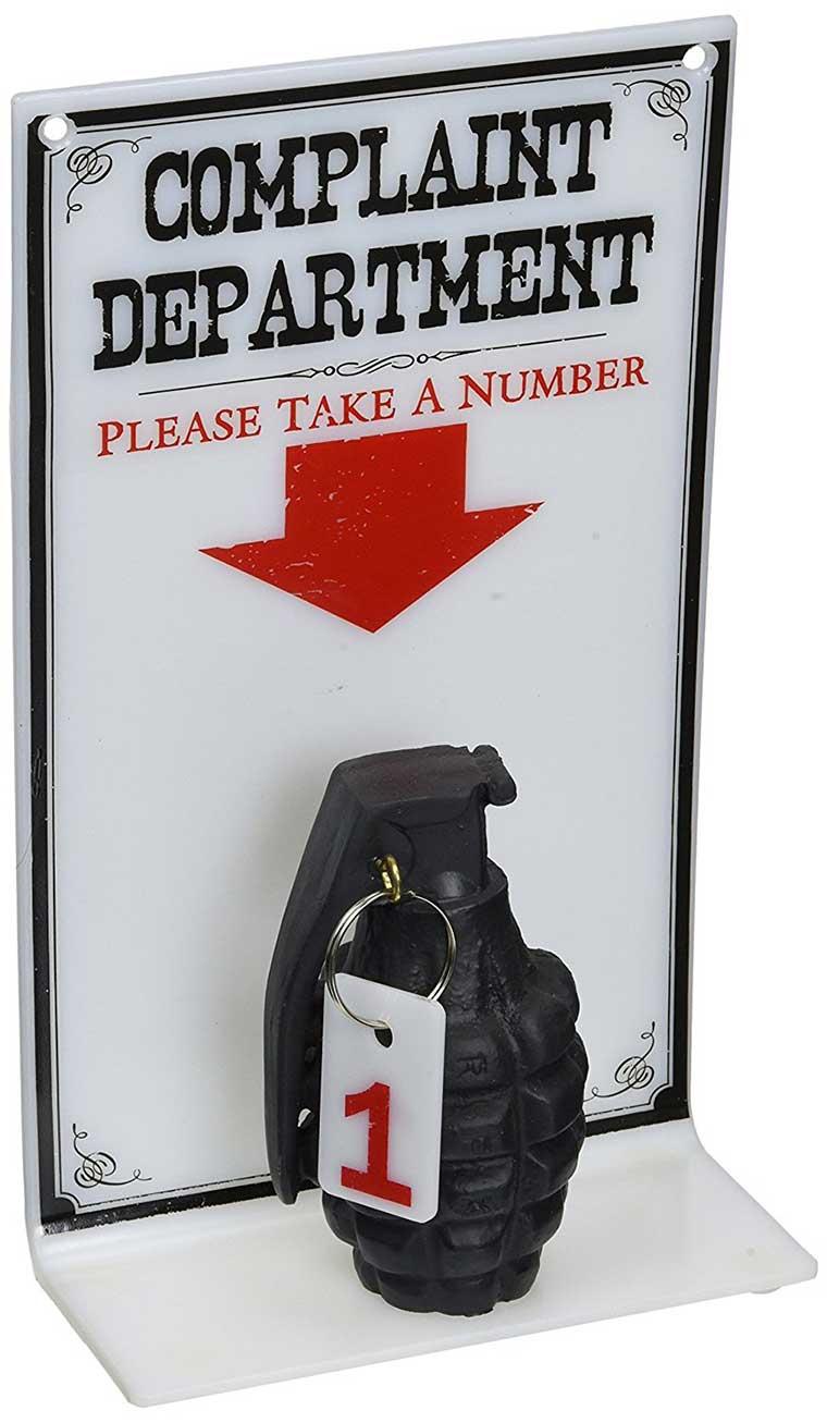 Grenade take a number sign