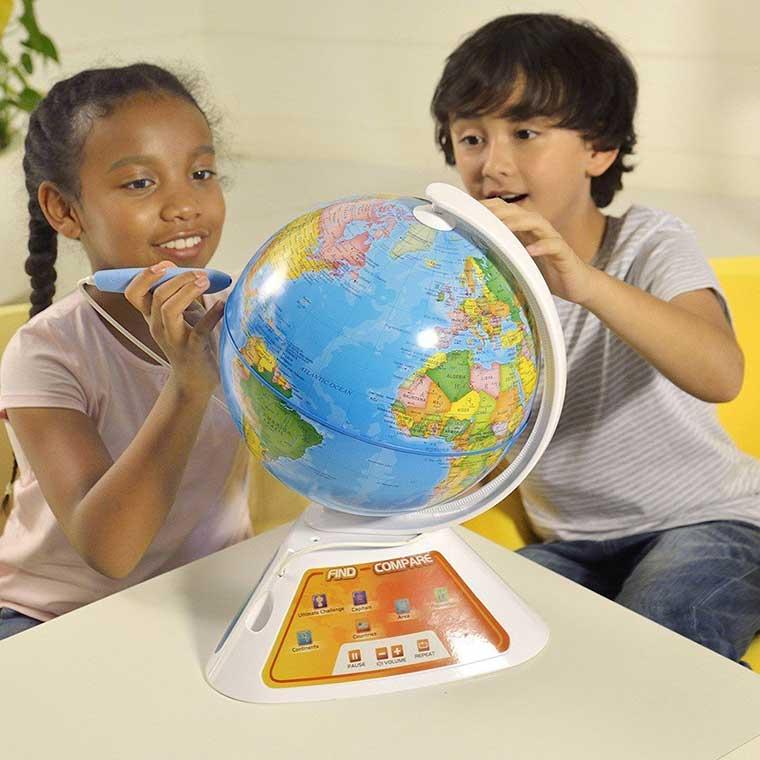 Interactive Globe for Kids