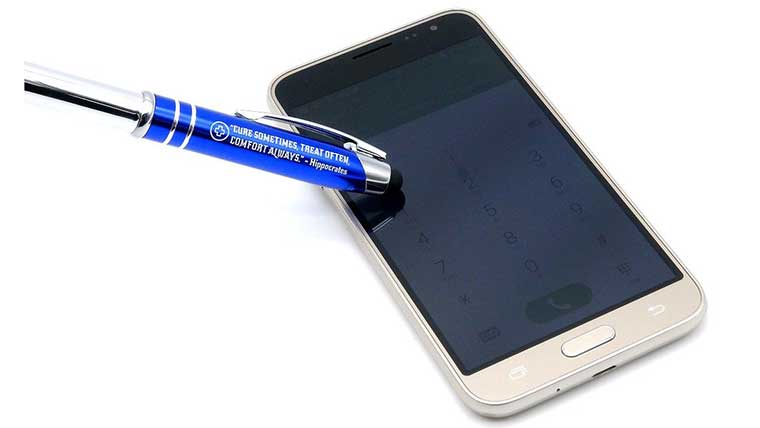 Medical Pen with Stylus Tip