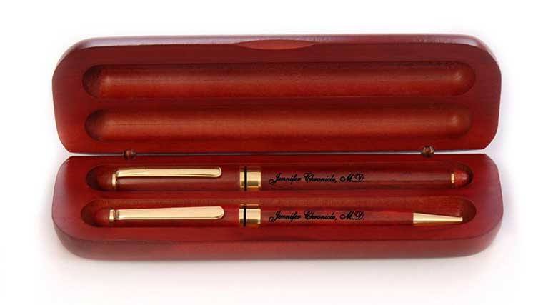 Personalized Wood Pen for Doctor