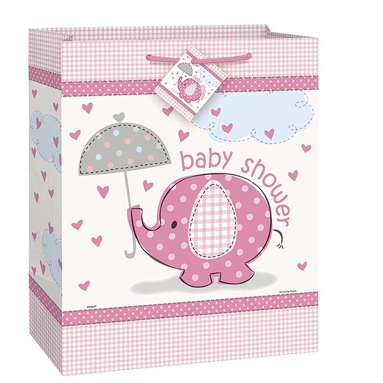 Pink Elephant Gift Bag