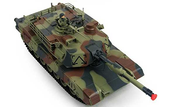Remote Controlled Tank that Shoots