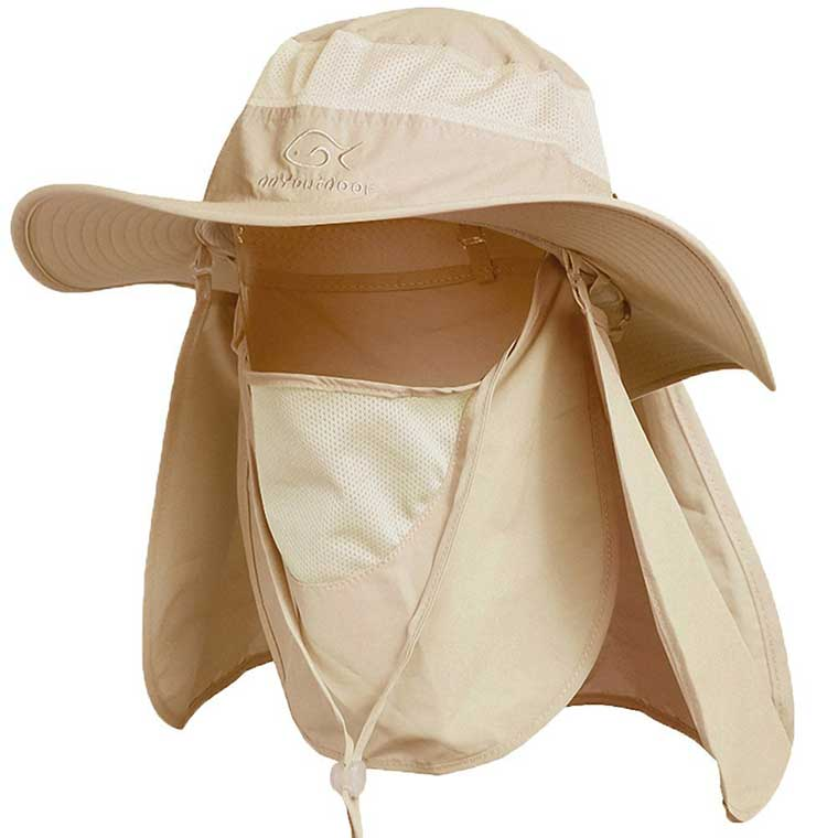 Sun Hat with Neck Protection