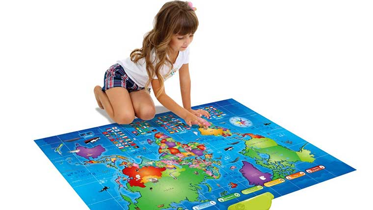 Talking Map for Kids