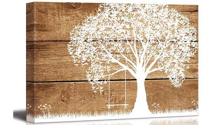 Tree Printed on Canvas
