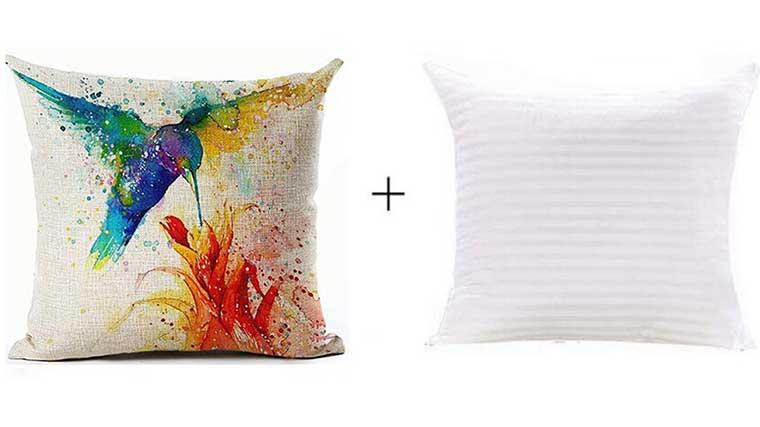 Watercolor Pillow Case