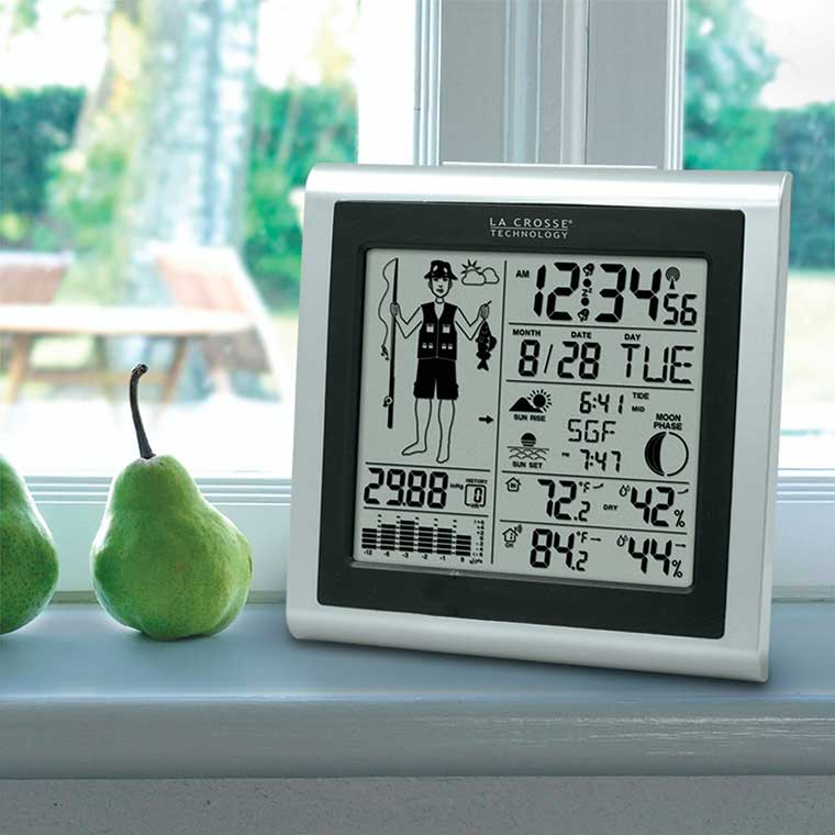 Weather Clock for Fishermen