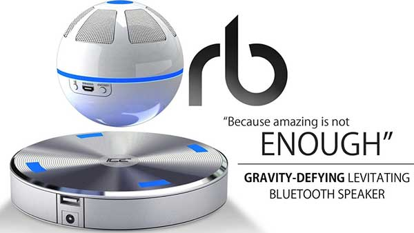 Cool Floating Speaker with Magnetic Base