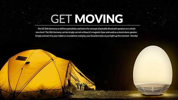 Hovering Speaker with LED light