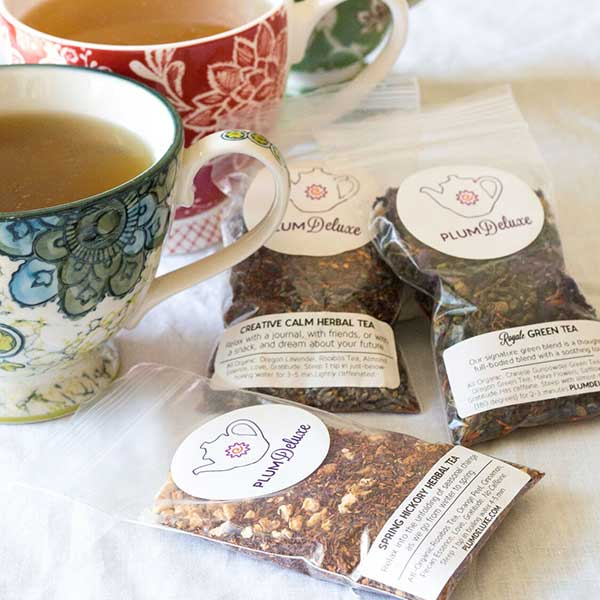 Tea Packs and Mug
