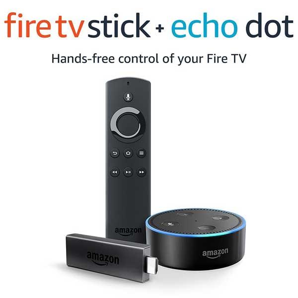 Amazon Echo Fire Stick and Alexa Remote Bundle