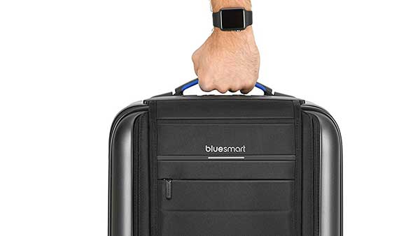 Suitcase with Handle Scale