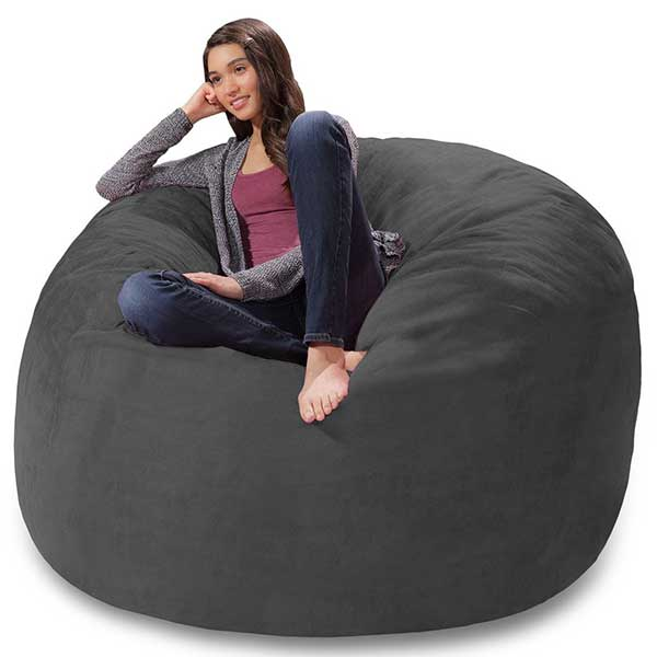 Comfy Memory Foam Bean Bag Chair
