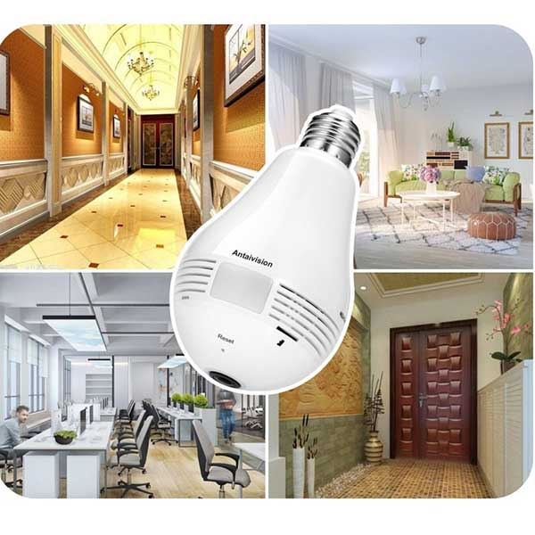 Home Security Light Bulb Camera