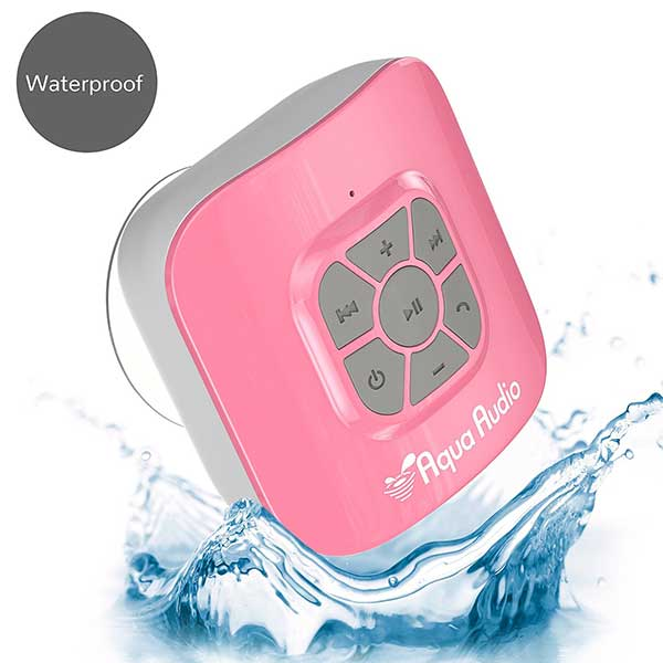 Pink Wireless Shower Speaker