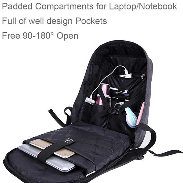 Secure Backpack for Travelers