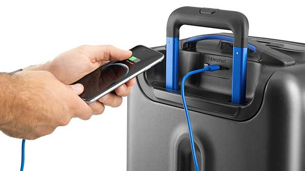 Smart Suitcase with Charger