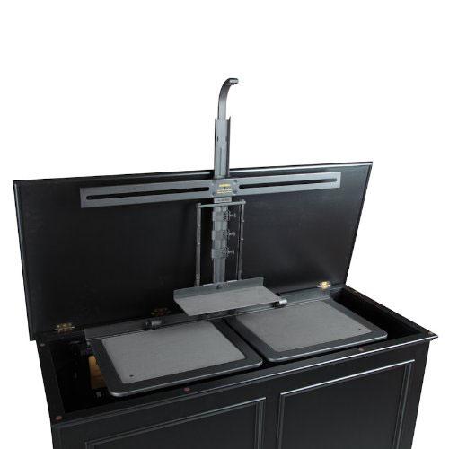 Cabinet that hides TV