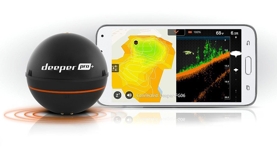 Deeper Fish Finder for iPhones