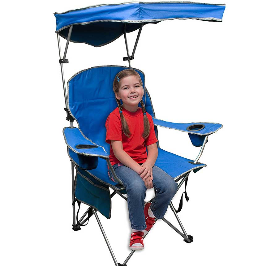 Durable Chair with Canopy