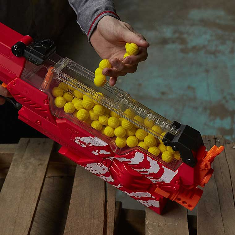 Foam Ball Nerf Gun