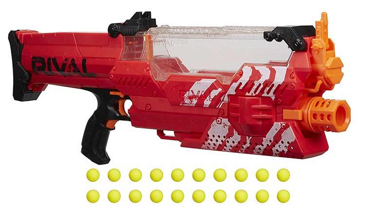 Fully automatic nerf gun