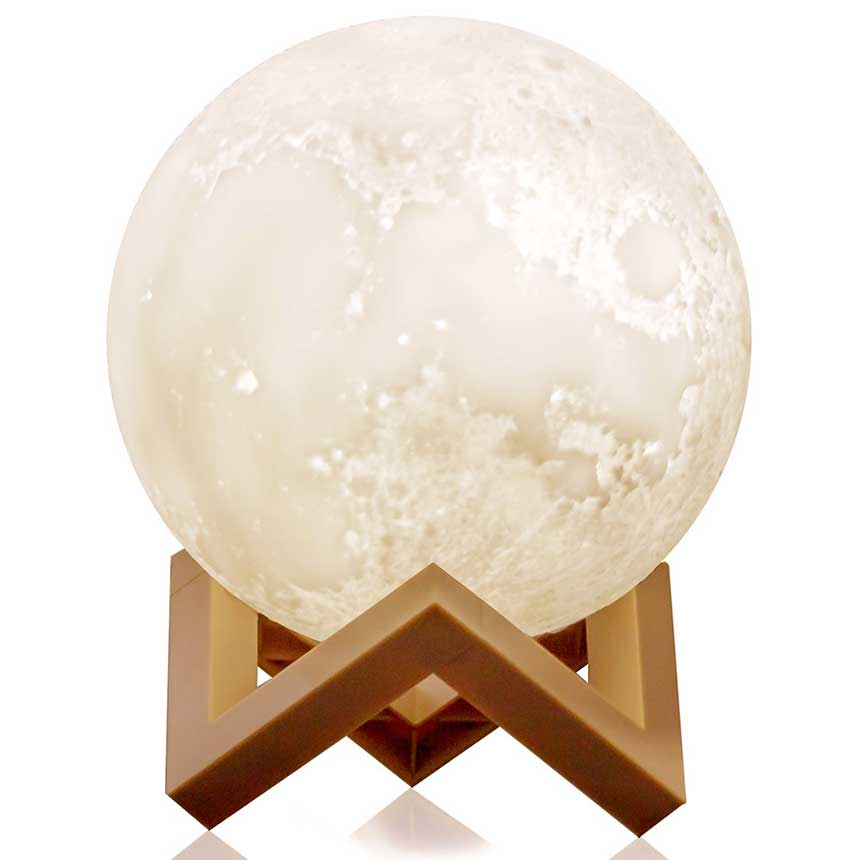 Rechargeable Moon Ball Lamp