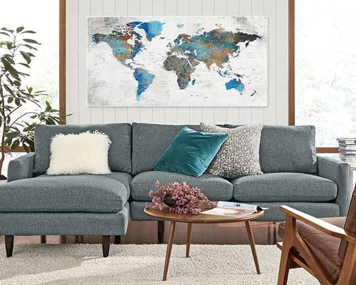 Adventure World Map Canvas