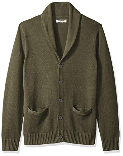 Amazon Brand Cotton Cardigan Sweater