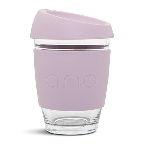 Ano Reusable Glass Coffee Cup