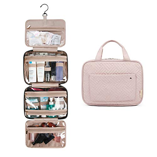 BAGSMART Toiletry Bag Travel Bag with Hanging Hook