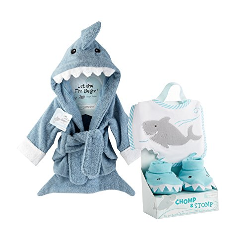 Baby Shark Robe and Slippers