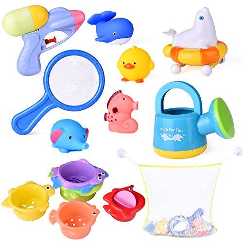 Bath Toys With Ocean Animals