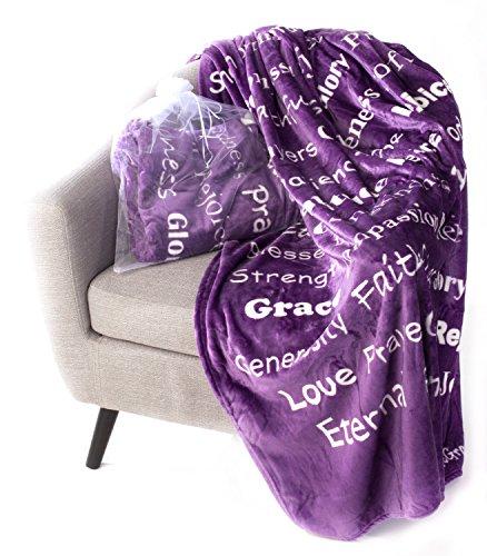 BlankieGram Faith Throw Blanket