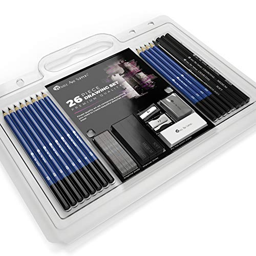 Castle Art Supplies 26 Piece Art Set
