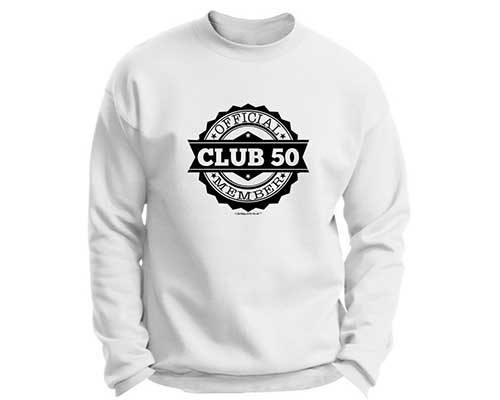 Club 50 Crewneck Sweatshirt
