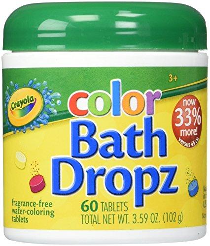 Colorful Bath Drops