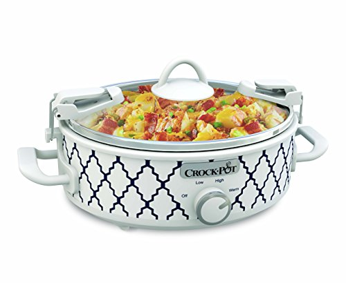 Crockpot 2.5-Quart Mini Casserole Crock Slow Cooker