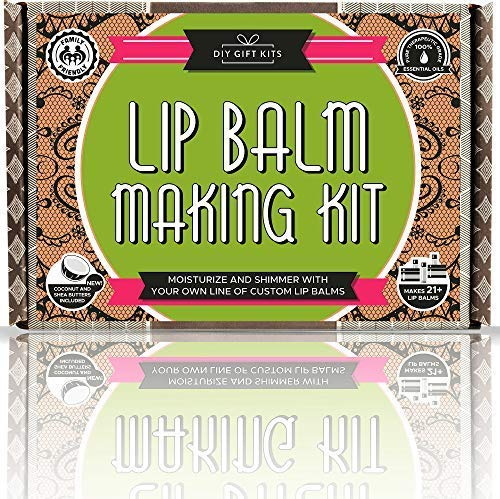DIY Lip Balm Kit (Natural and Organic)
