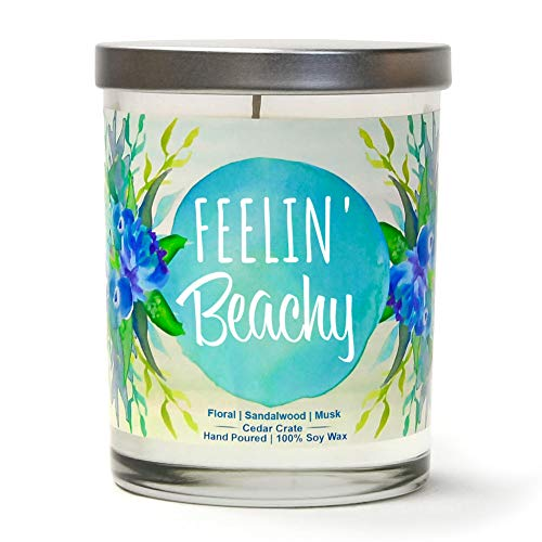 Feelin' Beachy Luxury Scented Soy Candles