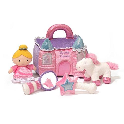 GUND Princess Castle Stuffed Plush Playset