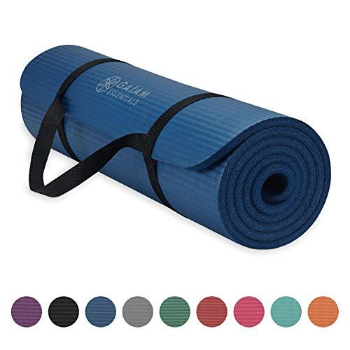 Gaiam Essentials Thick Fitness Mat