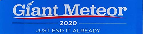 Giant Meteor Election Sticker