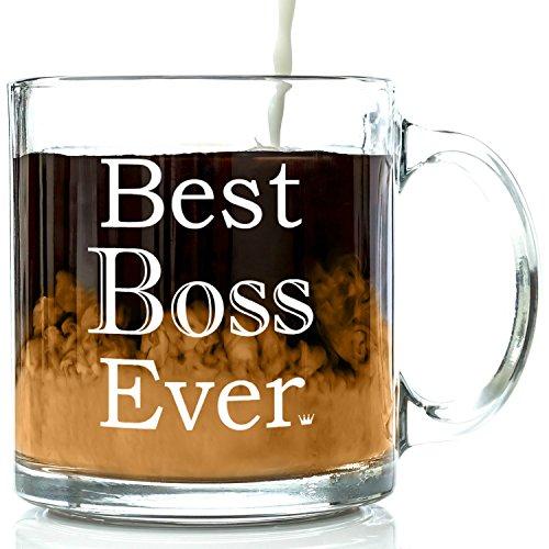 Got Me Tipsy Best Boss Ever Glass Mug