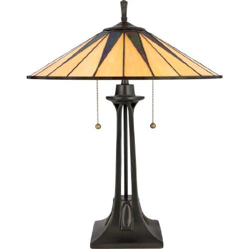 Gotham Tiffany Table Lamp Vintage Bronze